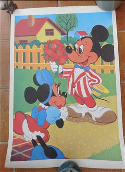 Disney :  Affiche Mickey and Minnie Mouse