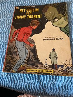 "Collectie Jong Europa ""Het Geheim van Jimmy Torrent "" 1963, Lombard, no; 22."