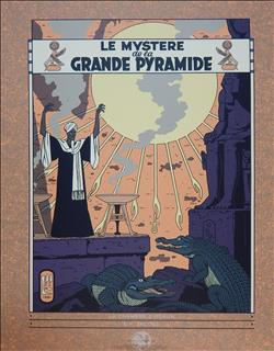 Jacobs. Blake en Mortimer. Zeefdruk. Le Mystère de la Grande Pyramide 2. Archives Internationales. 1994