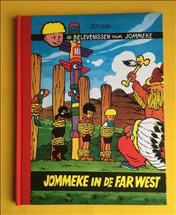 Jommeke Luxe set deel 30  Jommeke in de Far - West. .Hardcover met linnen rug.1e druk.2015
