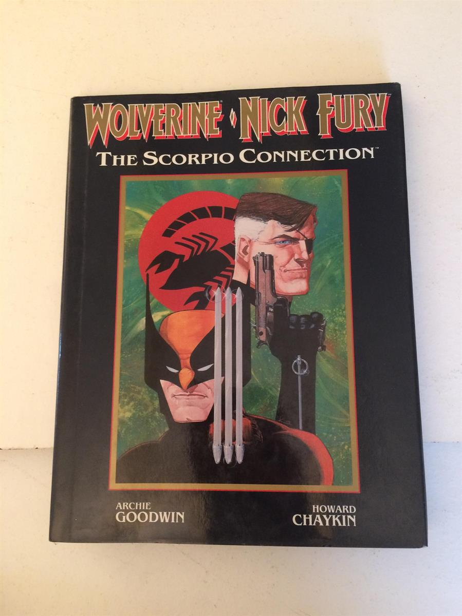 wolverine nick fury the scorpio connection  hc met losse omslag