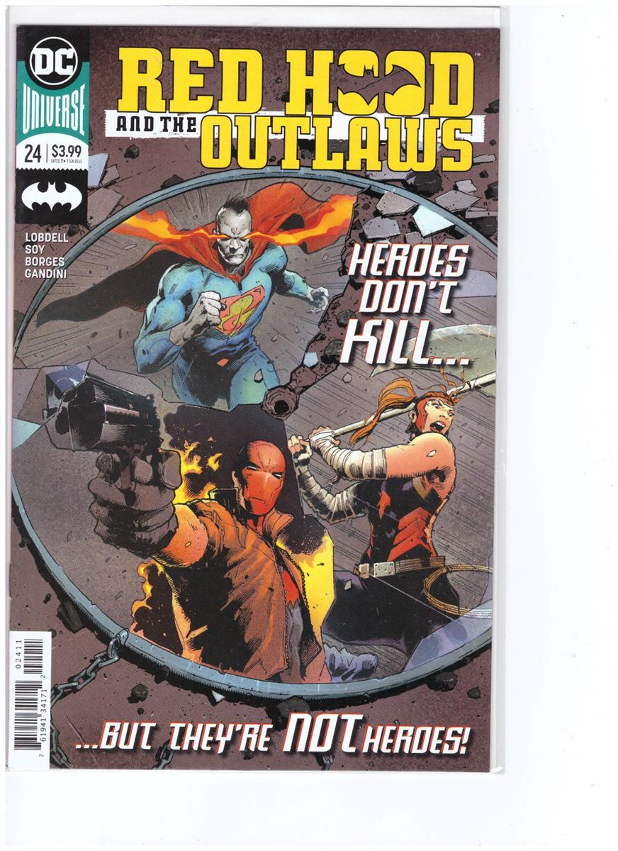 Red Hood and the outlaws - Comic Book - #24 - Engelstalig