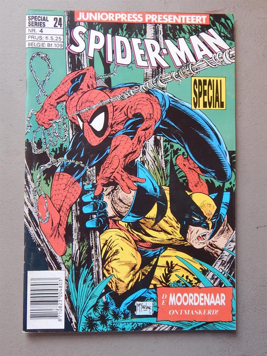 Spiderman Special 4. 1e druk. sc. 1991. Junior Press