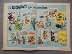 Robbedoes en Kwabbernoot 2 - Er is een Tovenaar in Rommelgem - hc - 1e druk - 1951
