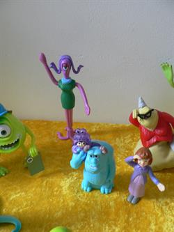 Monsters & Co figuren