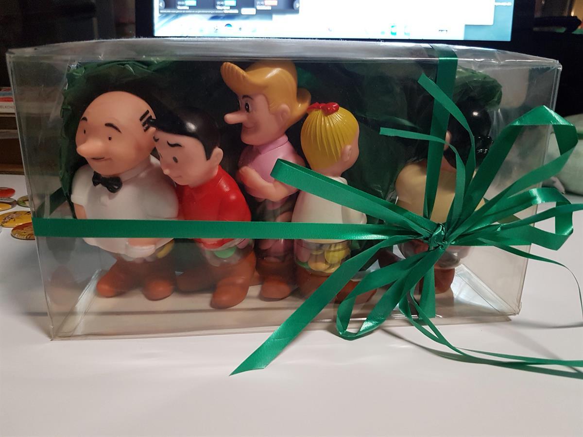 Suske en Wiske - Originele popjes Smarties in originele ... Smarties Verpakking