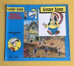 Lucky Luke - Complete 4-delige set décalcomanies  - 1984