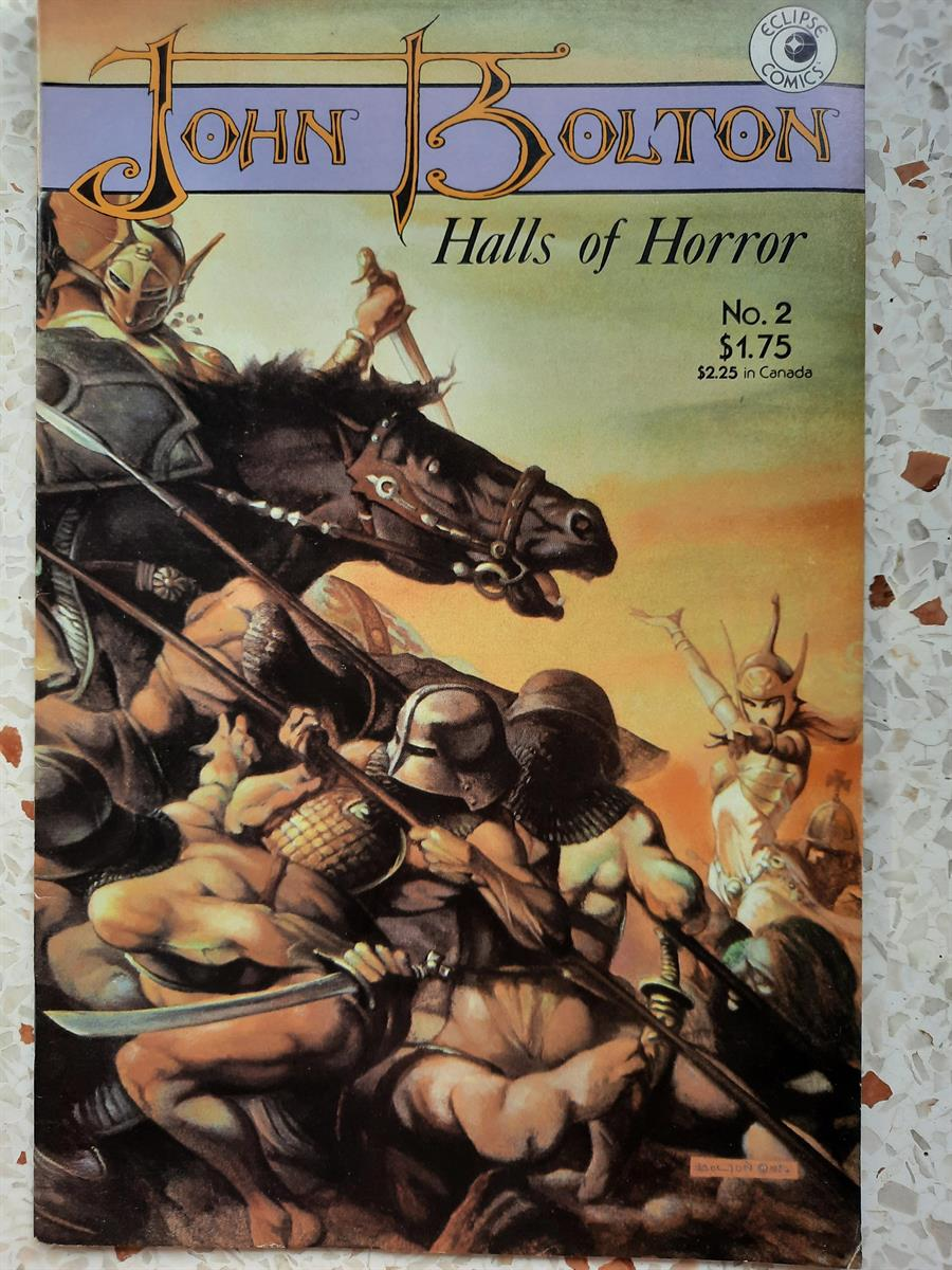 us comic -halls of horror-2 sc
