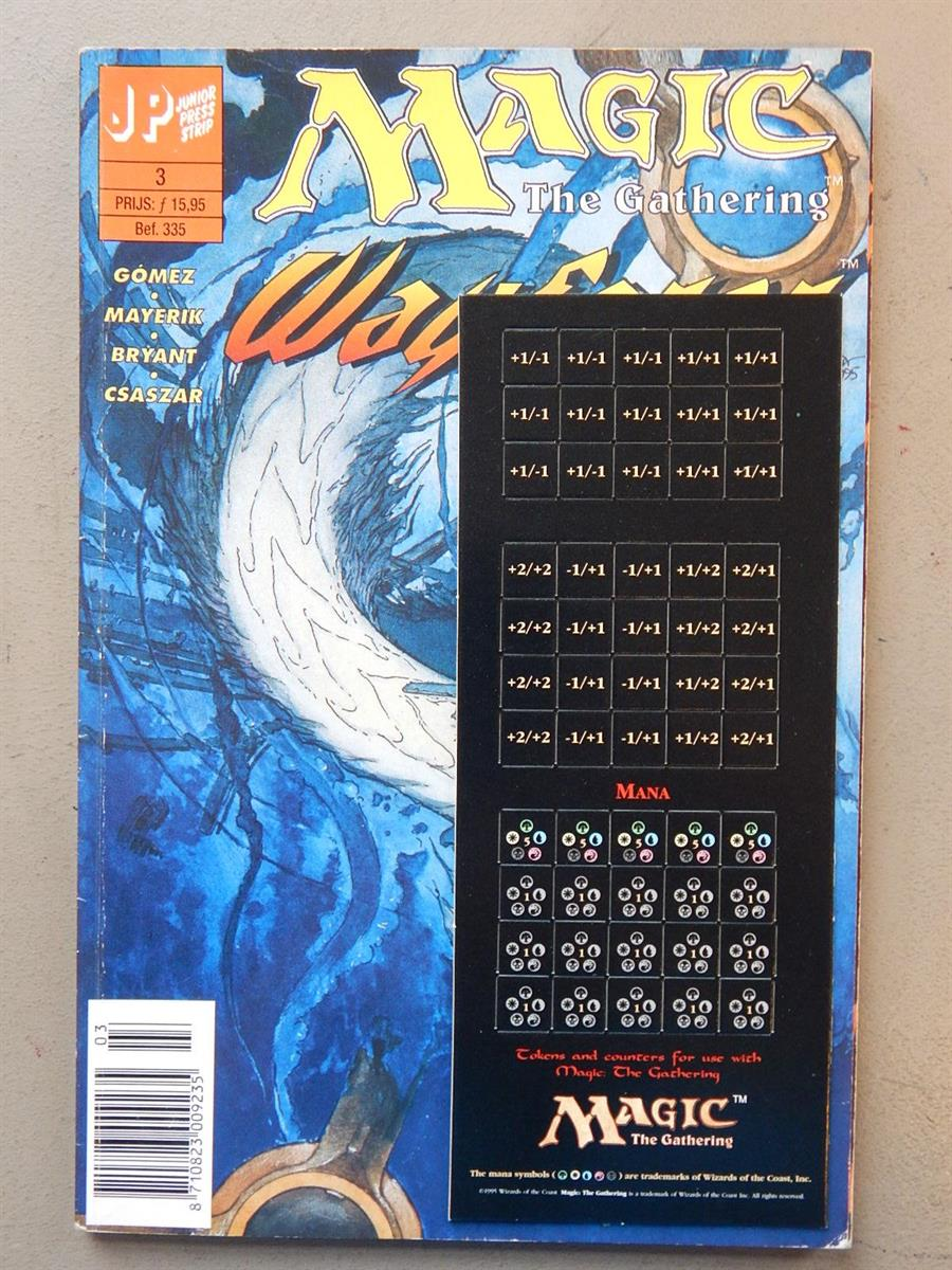 Magic The Gathering 3. 1e druk. sc. 1996. Junior Press.