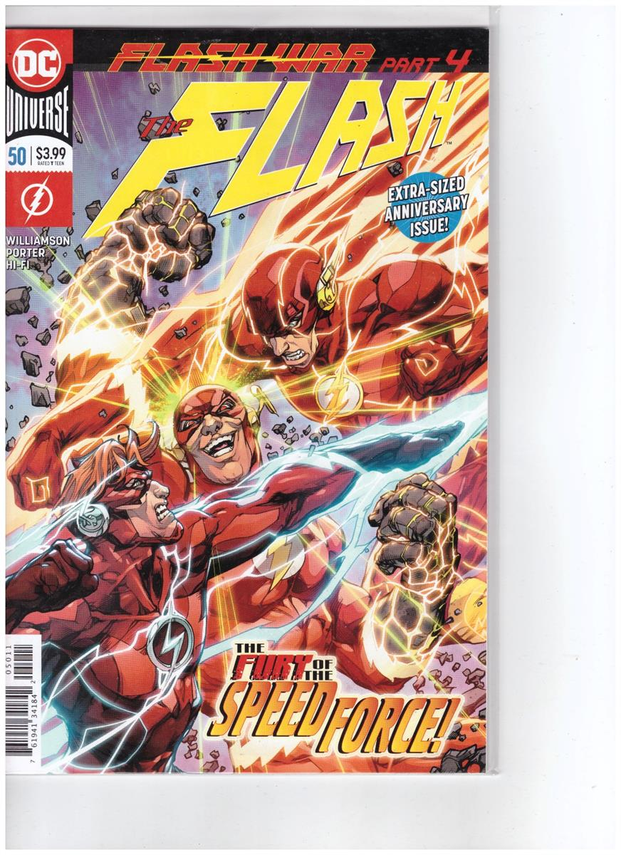The Flash - Comic Book - #50 - Engelstalig