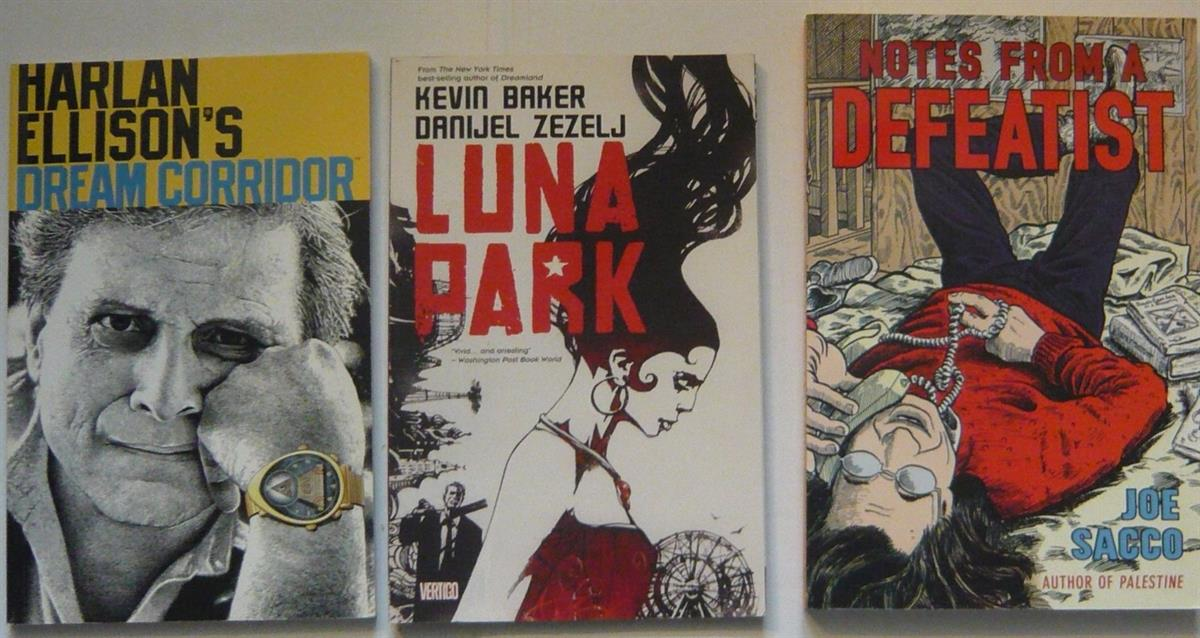 Amerikaanse Graphic novels - 3 x - Met o.a. Notes from a Defeatist - (tpb)