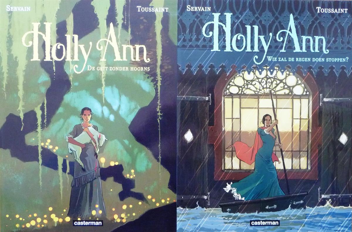 Holly Ann 1+2 - complete serie - sc - (2015/2016)