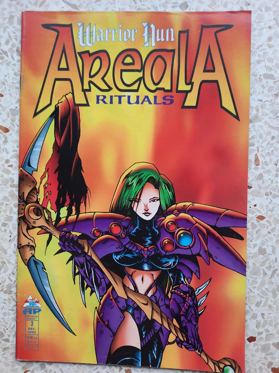 us comic -warrior nun areala-rituals -3-sc