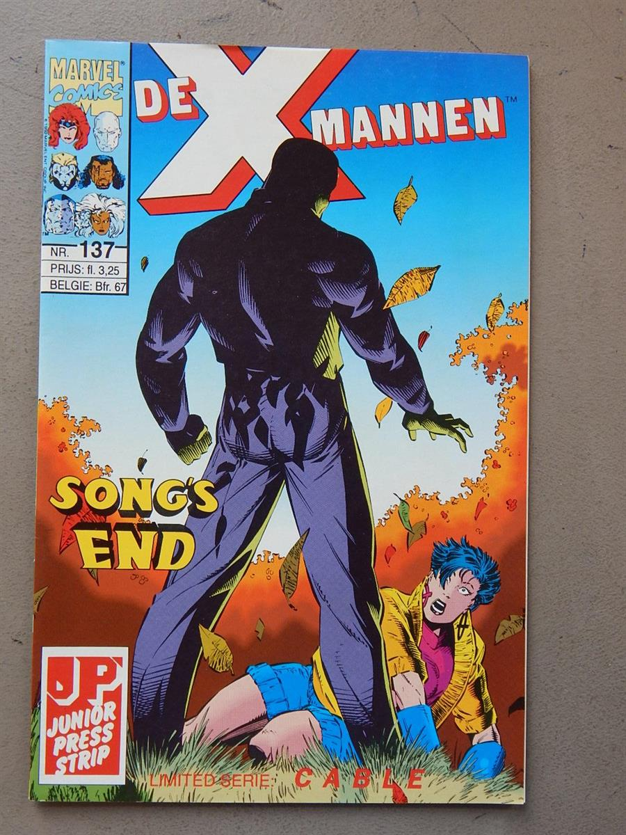 De X-Mannen 137. 1e druk. sc. 1993. X-Men. Marvel/Junior Press.