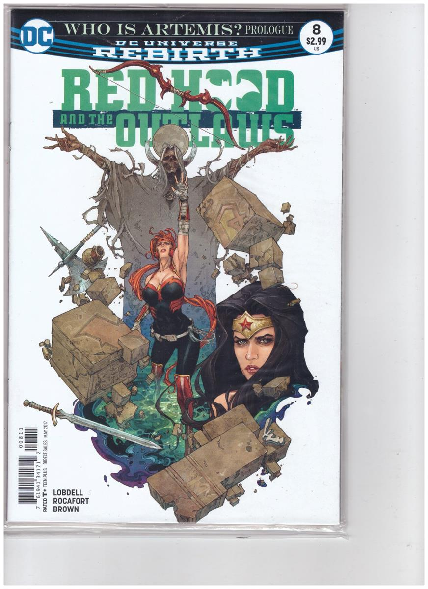 Red Hood and the outlaws - Comic Book - #8 - Engelstalig