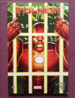 Marvel - Comic - Iron Man - nr 1 t/m 9 - 2015/2018