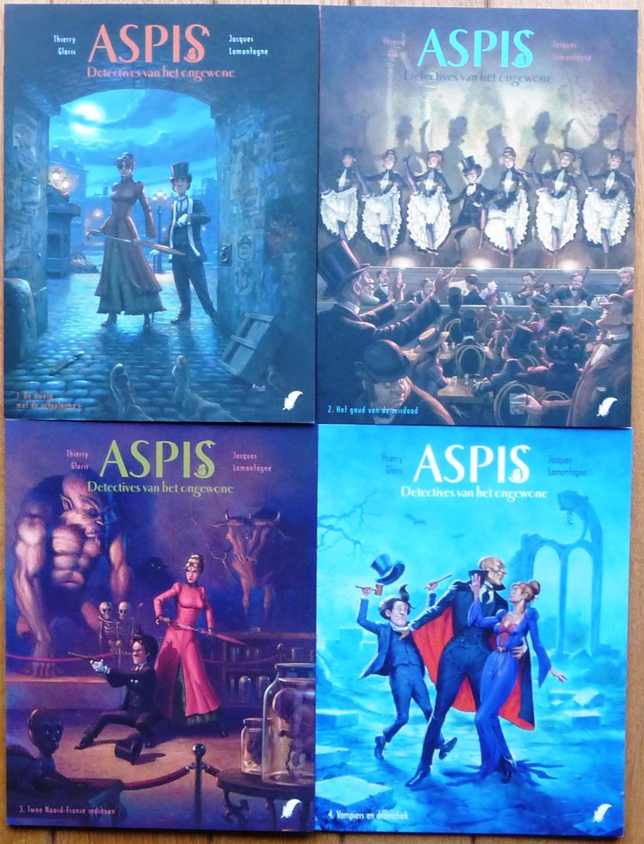 ASPIS 1 t/m 4 - complete serie - softcover - (2011/2016)