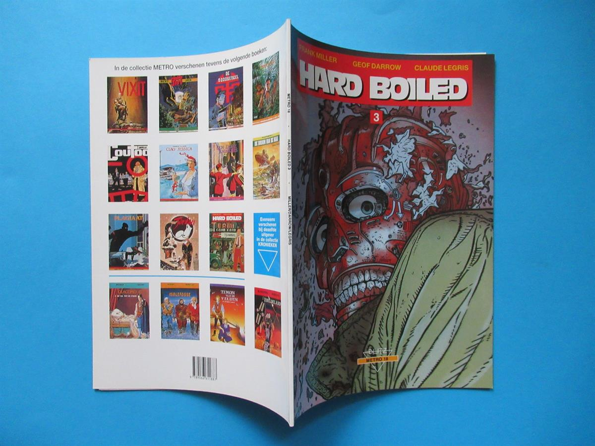 Hard Boiled - Deel: 3 - Hard Boiled. - SC - 1e druk - 1992 - (Darrow.) - uitgave: Talent.