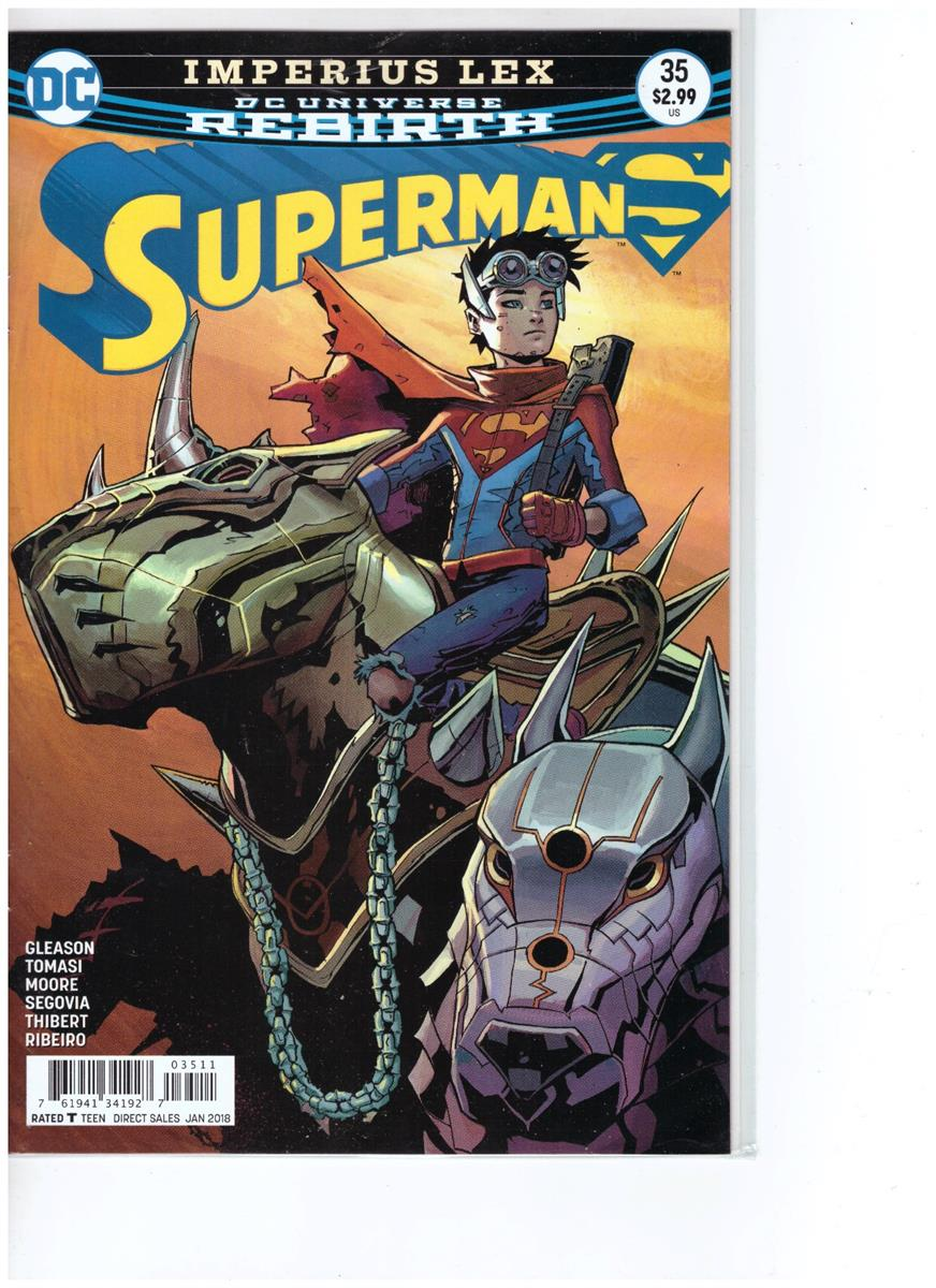 Superman - Comic Book - #35 - Engelstalig